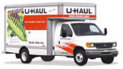 14' UHaul Moving Trucks