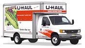 14' UHaul Moving Trucks