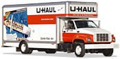 17' UHaul Moving Trucks