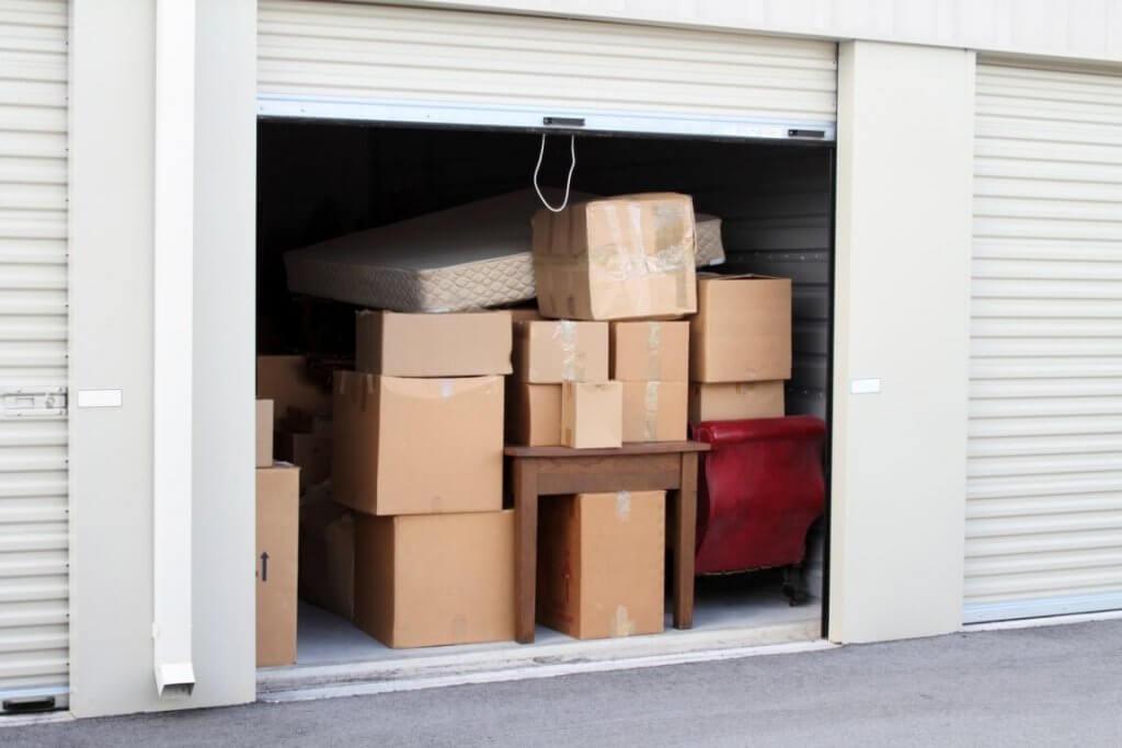 storage unit full